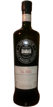 Mortlach 1987 SMWS 76.103