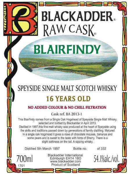 Blairfindy 1997 BA