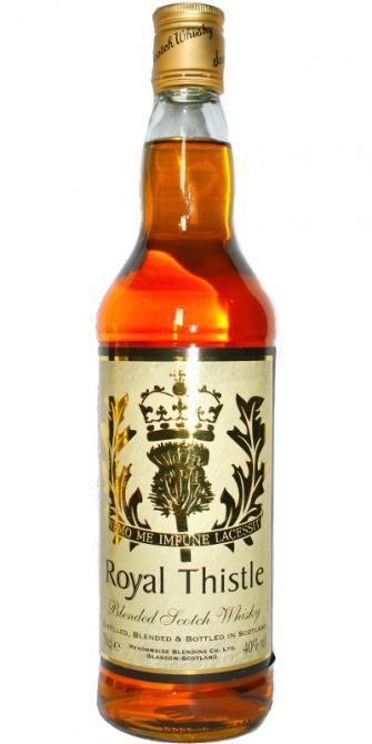 Royal Thistle Blended Scotch Whisky MBl