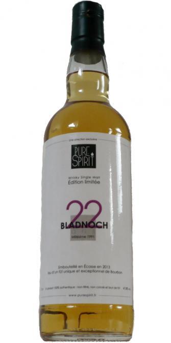 Bladnoch 1991 PS