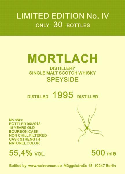 Mortlach 1995 Wr