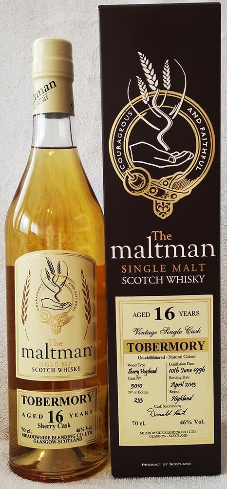 Tobermory 1996 MBl