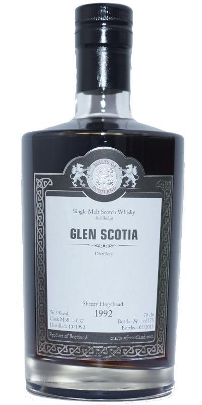 Glen Scotia 1992 MoS