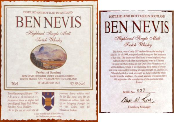 Ben Nevis 1999