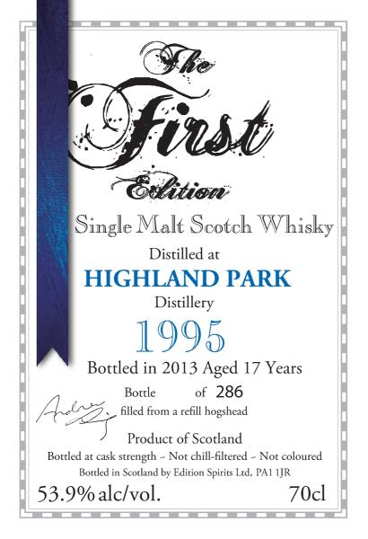 Highland Park 1995 ED