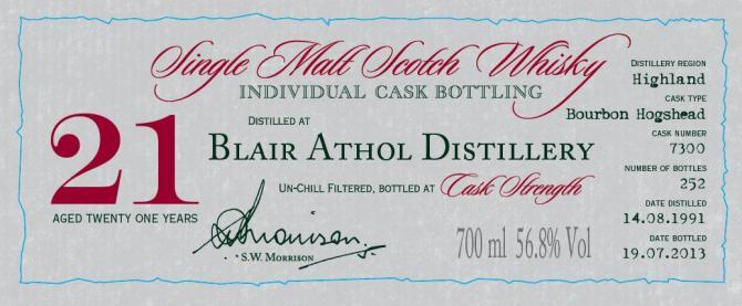 Blair Athol 1991 DR