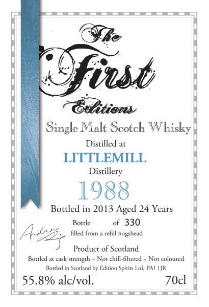 Littlemill 1988 ED