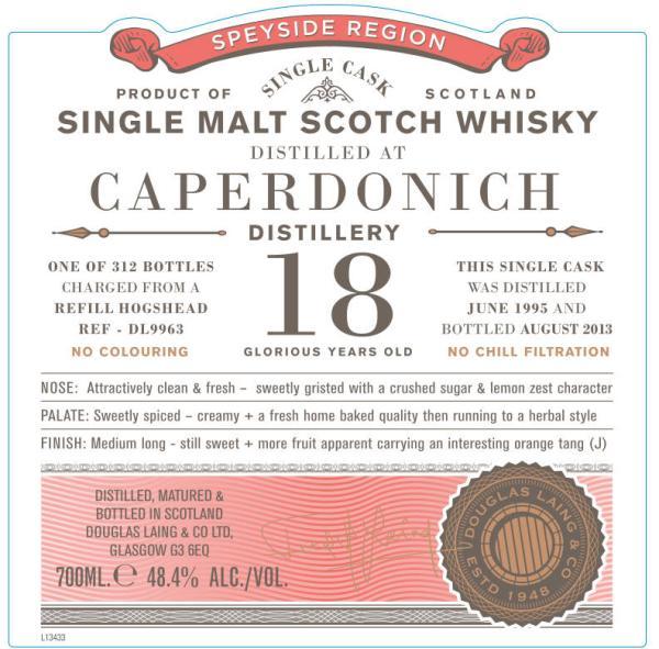 Caperdonich 1995 DL