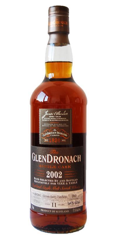 Glendronach 2002