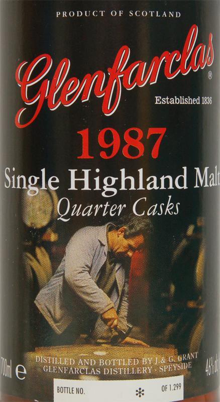 Glenfarclas 1987 Quarter Casks