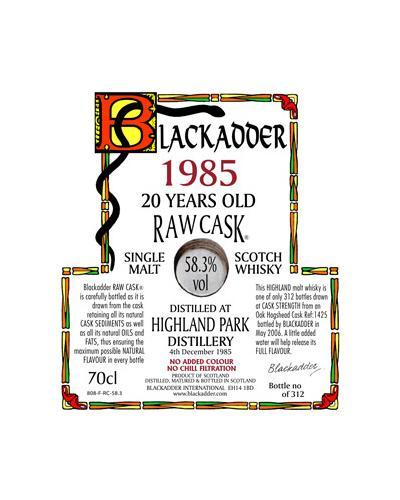 Highland Park 1985 BA