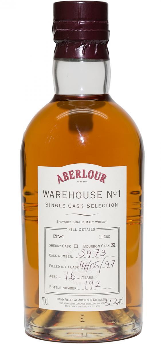 Aberlour 1997 Warehouse No. 1