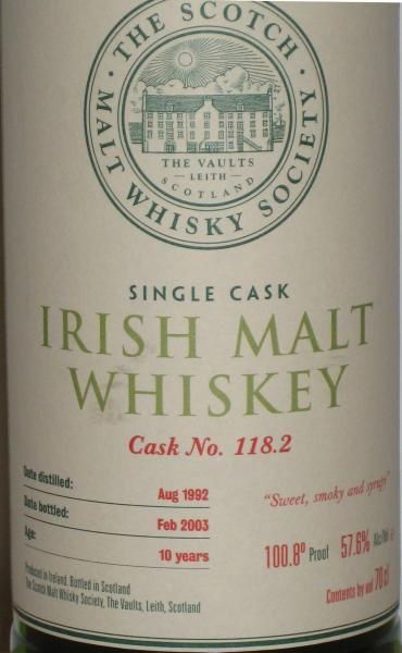Cooley 1992 SMWS 118.2