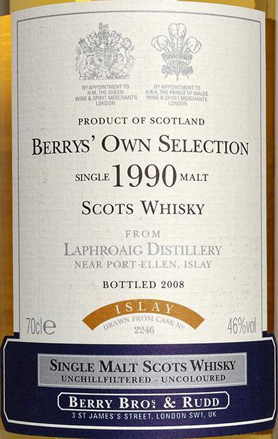 Laphroaig 1990 BR