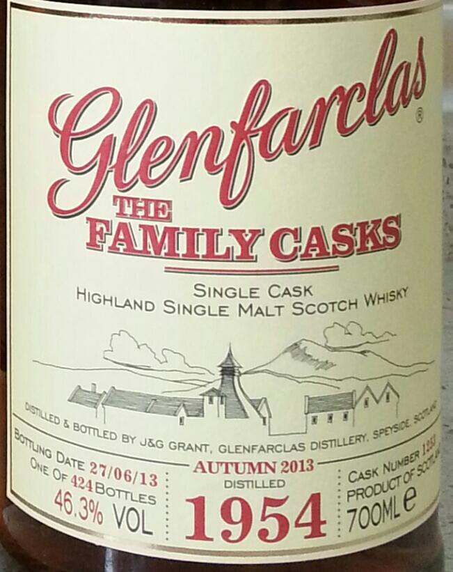 Glenfarclas 1954
