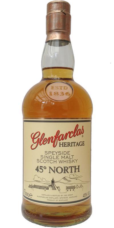 Glenfarclas Heritage 45° North
