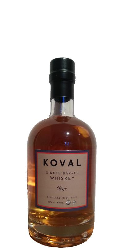 Koval Single Barrel - Rye