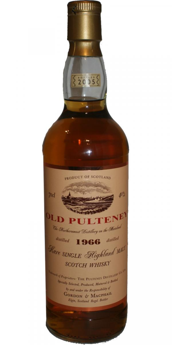 Old Pulteney 1966 GM