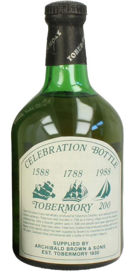 Tobermory Celebration Bottle