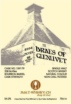 Braes of Glenlivet 1994 DR