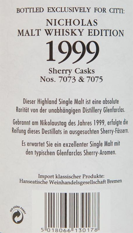 Glenfarclas 1999