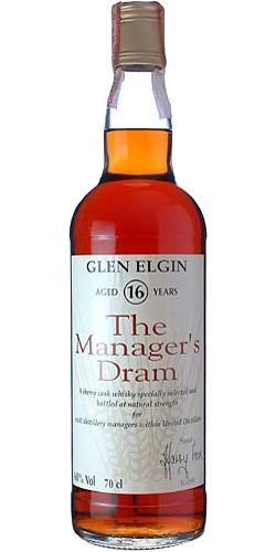 Glen Elgin 16-year-old