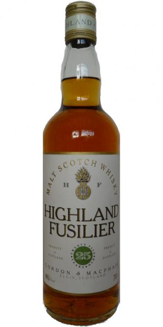 Highland Fusilier 25-year-old GM
