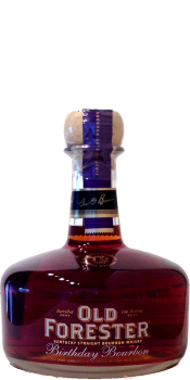 Old Forester 2001 - Birthday Bourbon