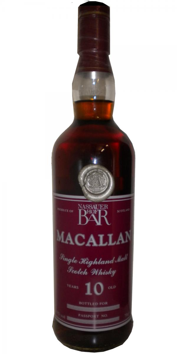 Macallan 10-year-old UD
