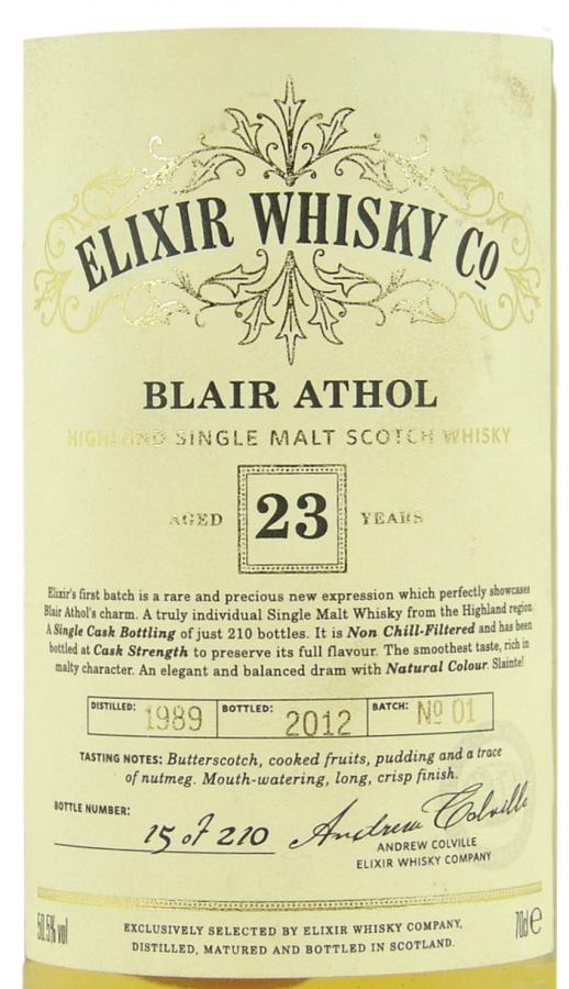 Blair Athol 1989 ElD