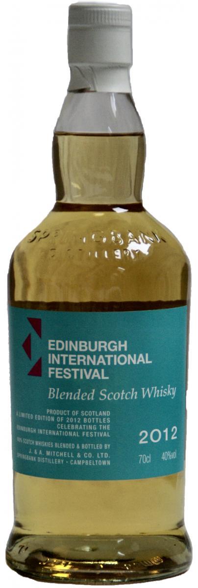 Edinburgh Festival 2012 SpD