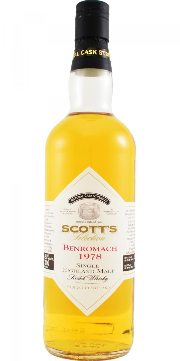 Benromach 1978 Sc