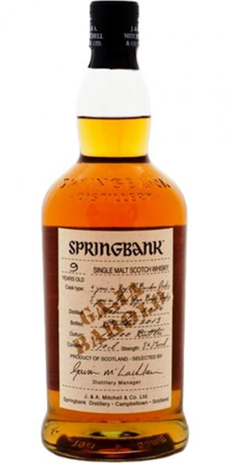 Springbank 2004 Gaja Barolo