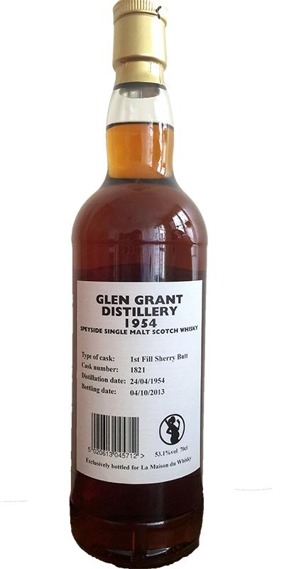 Glen Grant 1954 GM