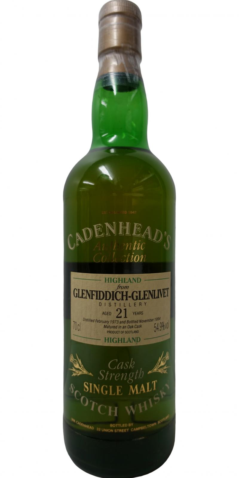 Glenfiddich 1973 CA