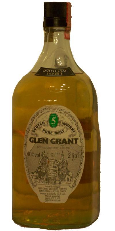 Glen Grant 1981