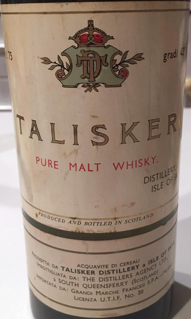 Talisker 08-year-old TDA