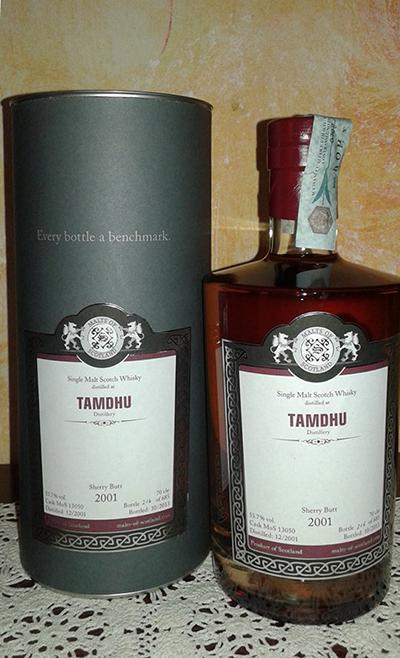 Tamdhu 2001 MoS