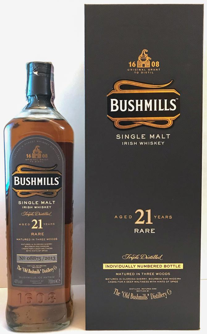 Bushmills 21-year-old