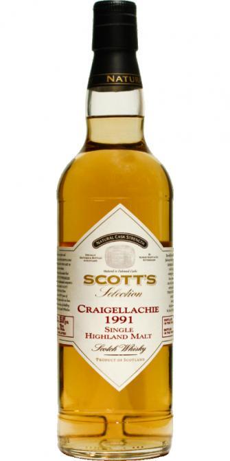 Craigellachie 1991 Sc