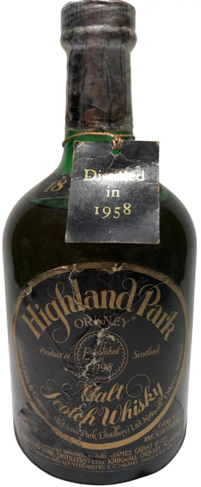 Highland Park 1958