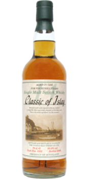 Classic of Islay Vintage 2006 JW