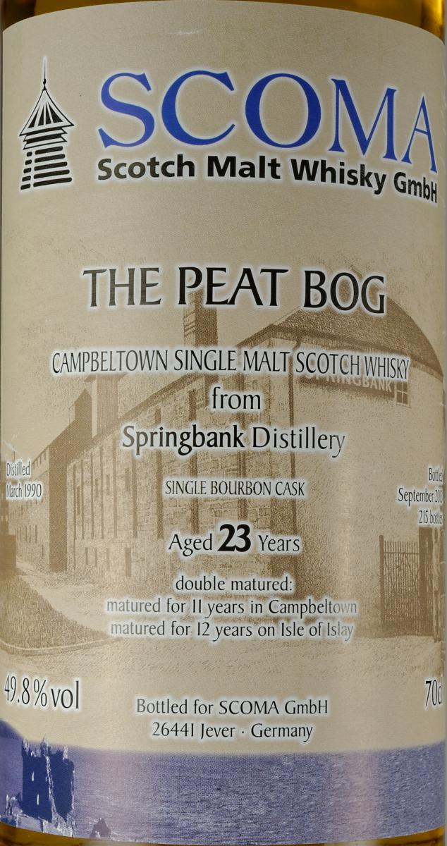 The Peat Bog 1990 Gs
