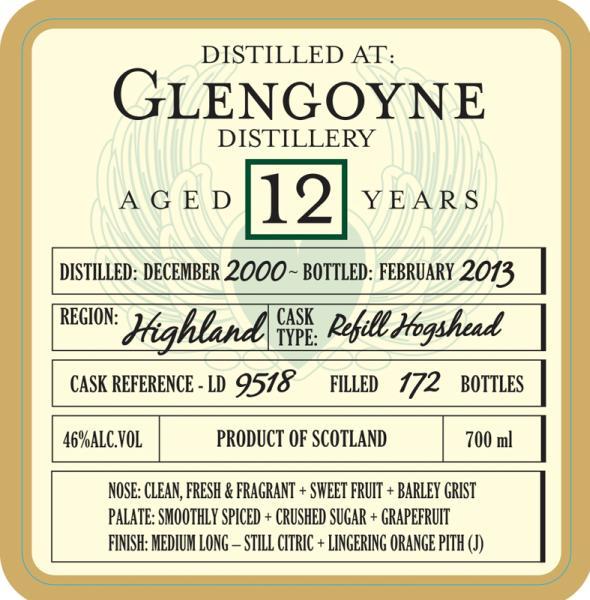 Glengoyne 2000 DoD