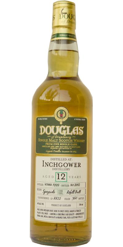 Inchgower 1999 DoD