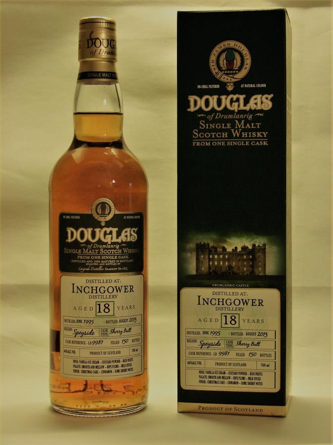 Inchgower 1995 DoD