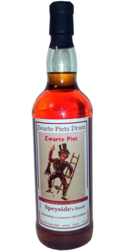 BenRiach Zwarte Piets Dram LotD