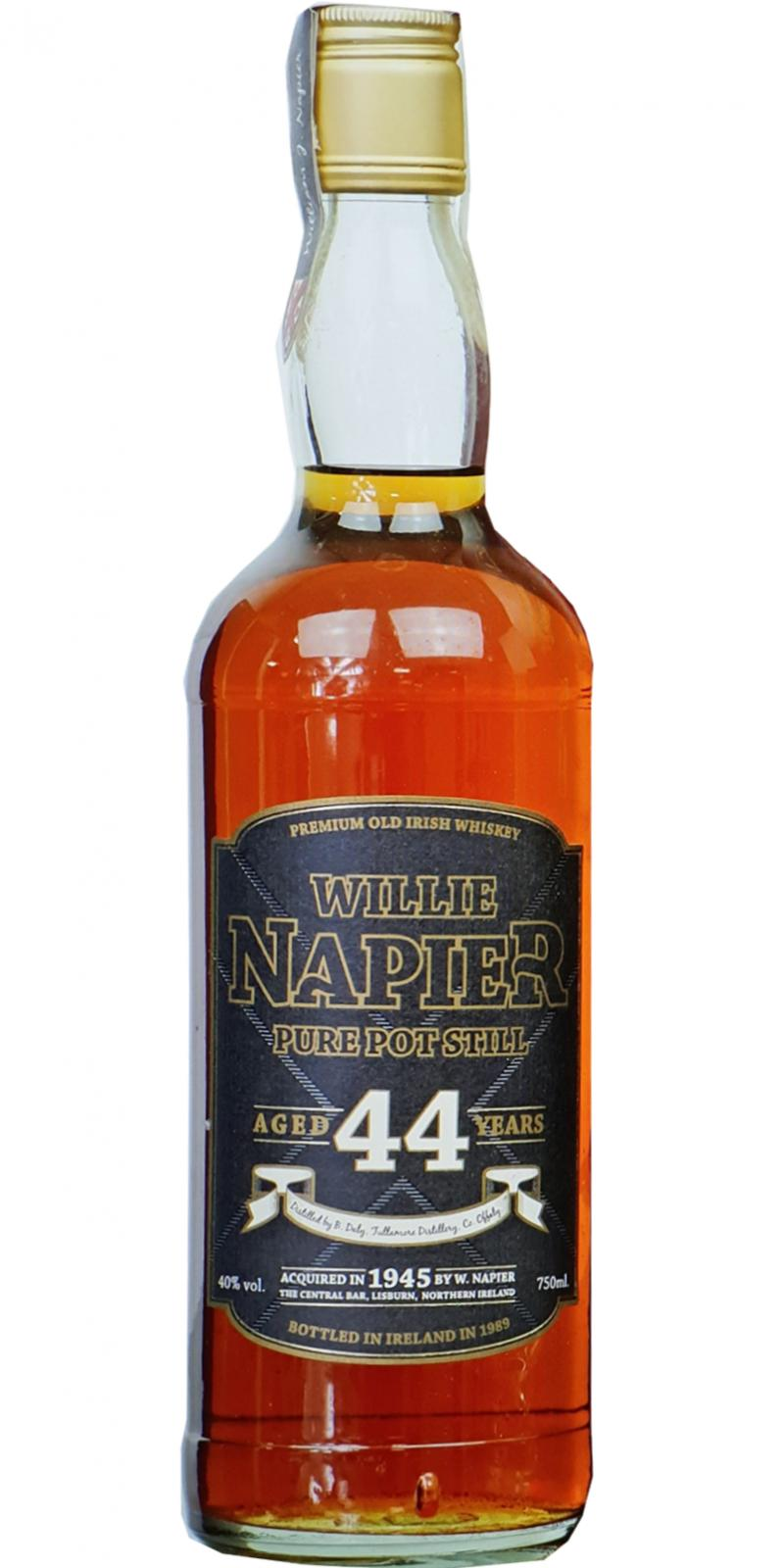 Tullamore Dew 1945 Willie Napier