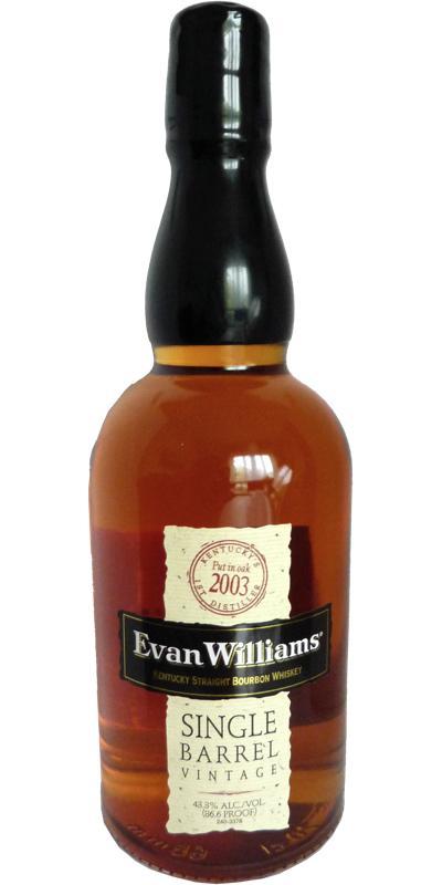 Evan Williams 2003