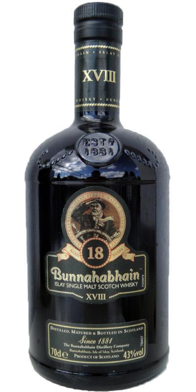 Bunnahabhain XVIII